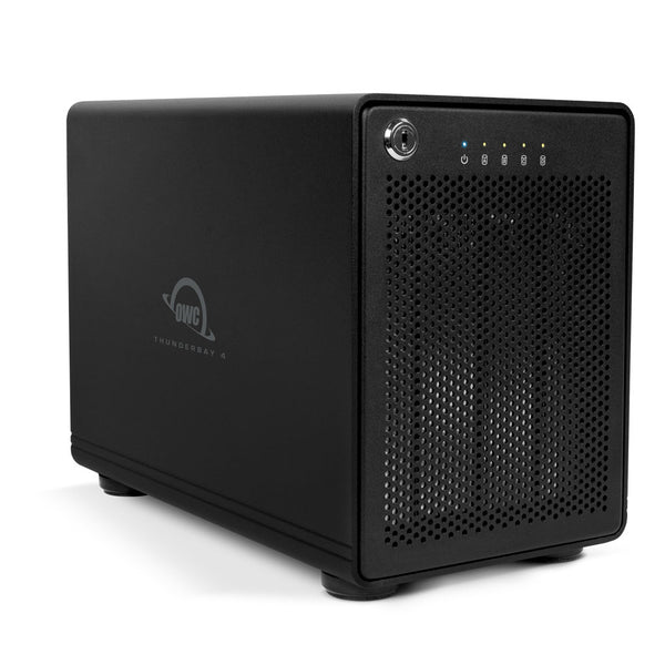 48TB OWC ThunderBay 4 (Thunderbolt 2 Model) with Dual Thunderbolt 2 Ports and SoftRAID XT Lite