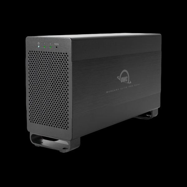 16TB HDD OWC Mercury Elite Pro Dual Performance RAID Storage Solution (with Thunderbolt 2 and USB 3.1 ports)