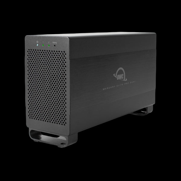 2TB HDD OWC Mercury Elite Pro Dual Performance RAID Storage Solution (with Thunderbolt 2 and USB 3.1 ports)