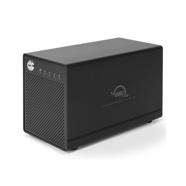 OWC 4TB ThunderBay 4 mini Portable 4-Bay External Drive (With Dual Thunderbolt 2 Ports)