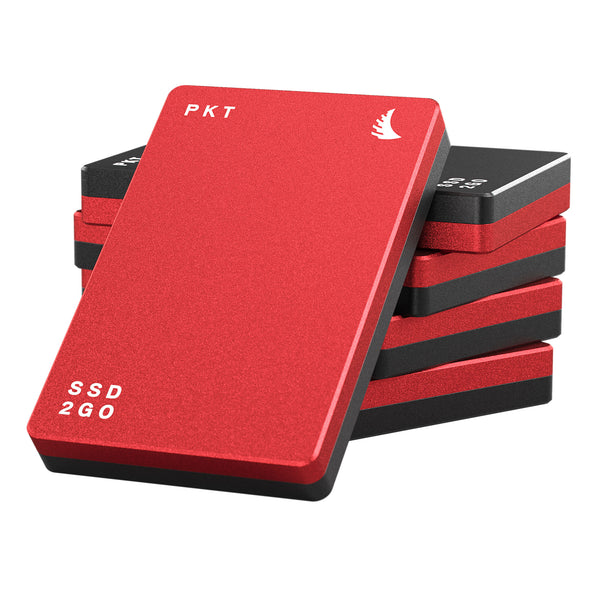 AngelBird 256GB SSD2go PKT - Red