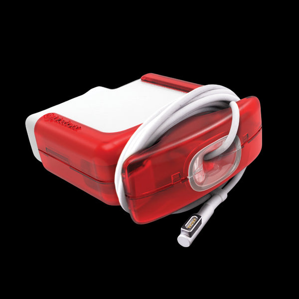 Juiceboxx Charger Case (for 60w Apple Power Adapter/Charger) - Red