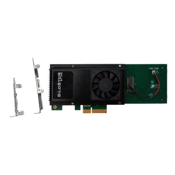 500GB JMR SiloStor NVME SSD x4 PCIe Single Drive Card