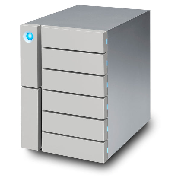 LaCie 48TB HDD 6big Thunderbolt 3 & USB-C Desktop RAID Storage