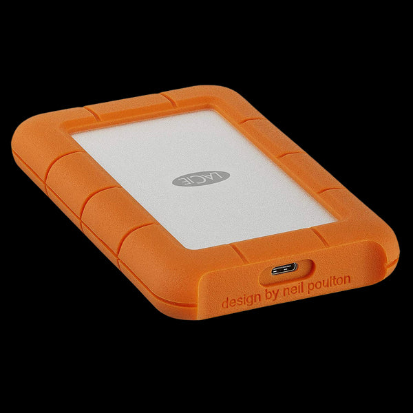 LaCie 1TB HDD Rugged USB-C Mobile Hard Drive (USB 3.1, Type-C)