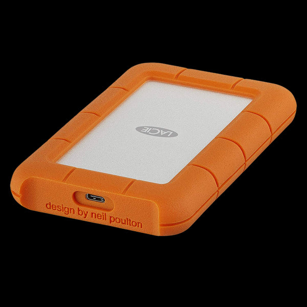 LaCie 2TB HDD Rugged USB-C Mobile Hard Drive (USB 3.1, Type-C)