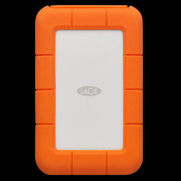 LaCie 2TB HDD Rugged Secure USB 3.1 External Drive (USB-C + USB 3.0)