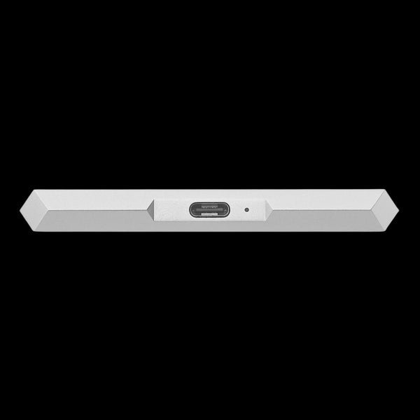 LaCie 2TB HDD External Mobile Drive - Moon Silver