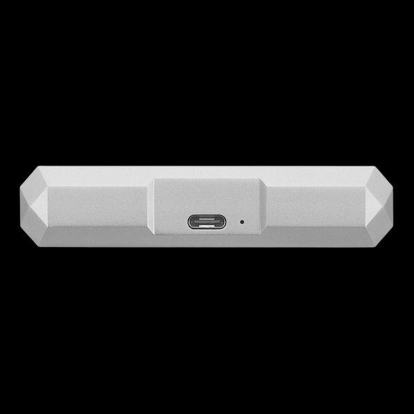 LaCie 4TB HDD External Mobile Drive - Moon Silver
