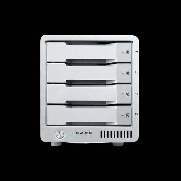 Caldigit 12TB HDD T4 Thunderbolt 3 RAID External Storage Solution