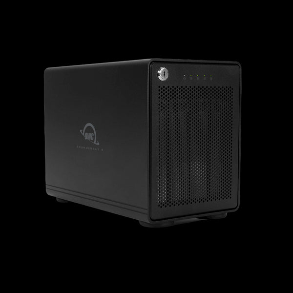 32.0TB HDD ThunderBay 4 RAID 5 Edition (Thunderbolt 3 Model) with Dual Thunderbolt 3 Ports and SoftRAID XT