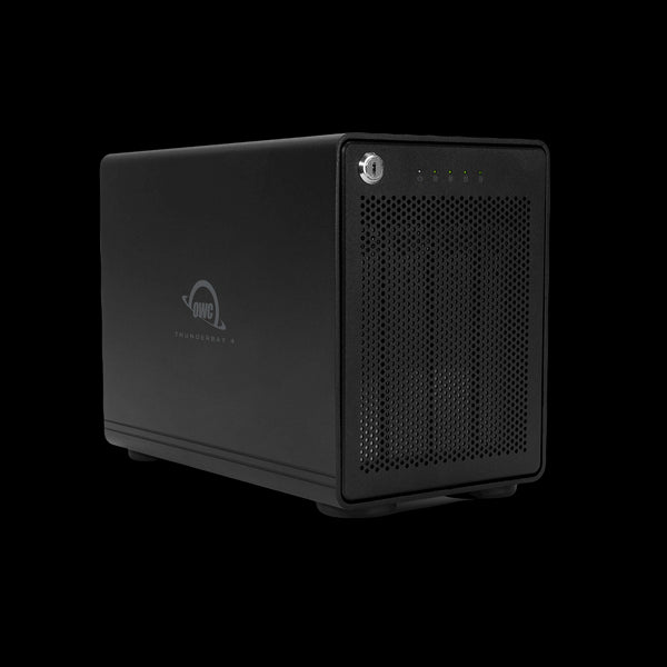 8.0TB HDD ThunderBay 4 RAID 5 Edition (Thunderbolt 3 Model) with Dual Thunderbolt 3 Ports and SoftRAID XT