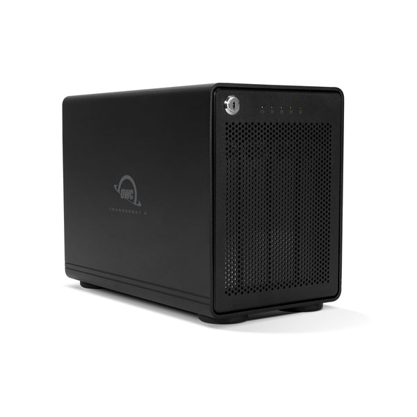 24.0TB HDD ThunderBay 4 (Thunderbolt 3 Model) with Dual Thunderbolt 3 Ports and SoftRAID XT Lite