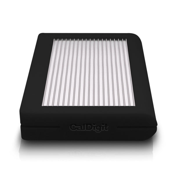 Caldigit 2TB HDD Tuff - Rugged Portable USB-C Drive - Black