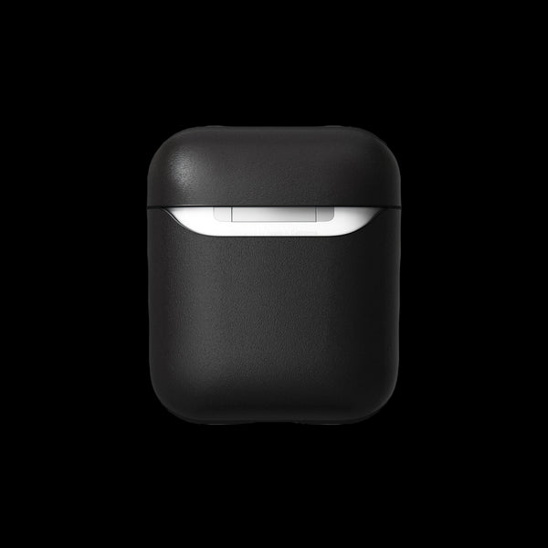 Nomad Rugged Case for AirPods - Black Horween Leather V.2