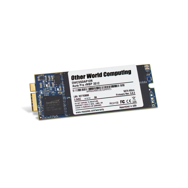 1TB OWC Aura Pro 6G SSD with Envoy SSD Enclosure and Tools (for MacBook Pro Retina 2012 - Early 2013)