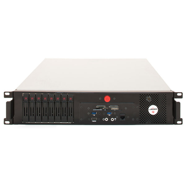 JMR Mac Mini Lightning Thunderbolt/RAID Rack Mount Work Station