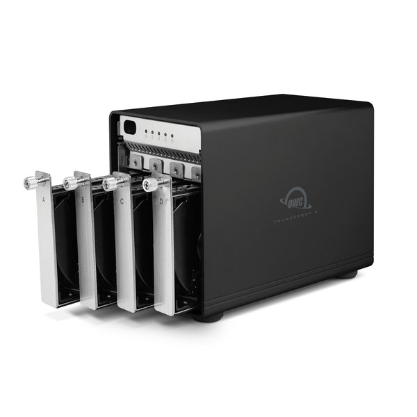 OWC ThunderBay 4 Enclosure (Thunderbolt 2 Model) with four 2.5