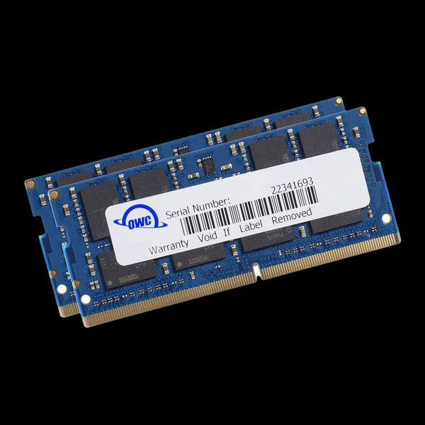 32GB OWC Matched Memory Upgrade Kit (2 x 16GB) 2400MHz PC4-19200 DDR4 SO-DIMM with Tools and Adhesive Strips