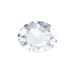 0.59 Carat  | Oval | H Colour | SI2 Clarity | Lab Grown Diamond
