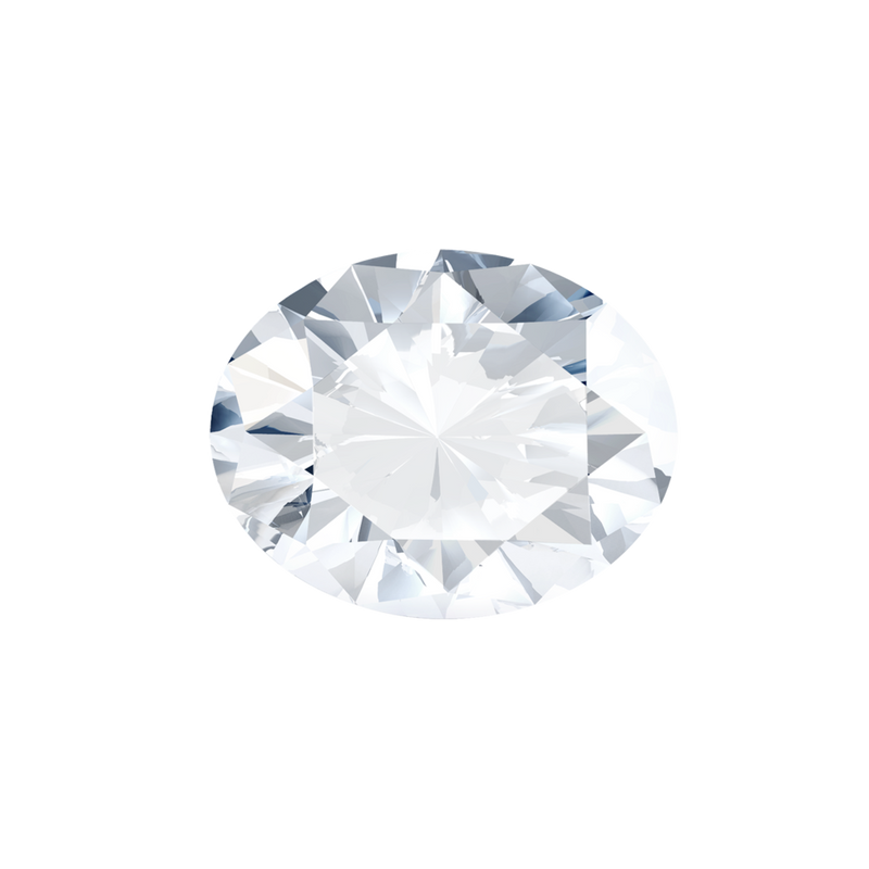 0.56 Carat  | Oval | H Colour | VVS2 Clarity | Lab Grown Diamond
