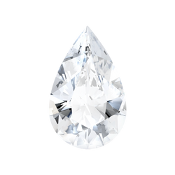 0.58 Carat  | Pear | H Colour | SI1 Clarity | Lab Grown Diamond