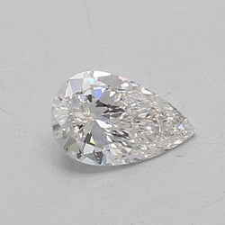 0.5 Carat  | Pear | F Colour | VS2 Clarity | Lab Grown Diamond