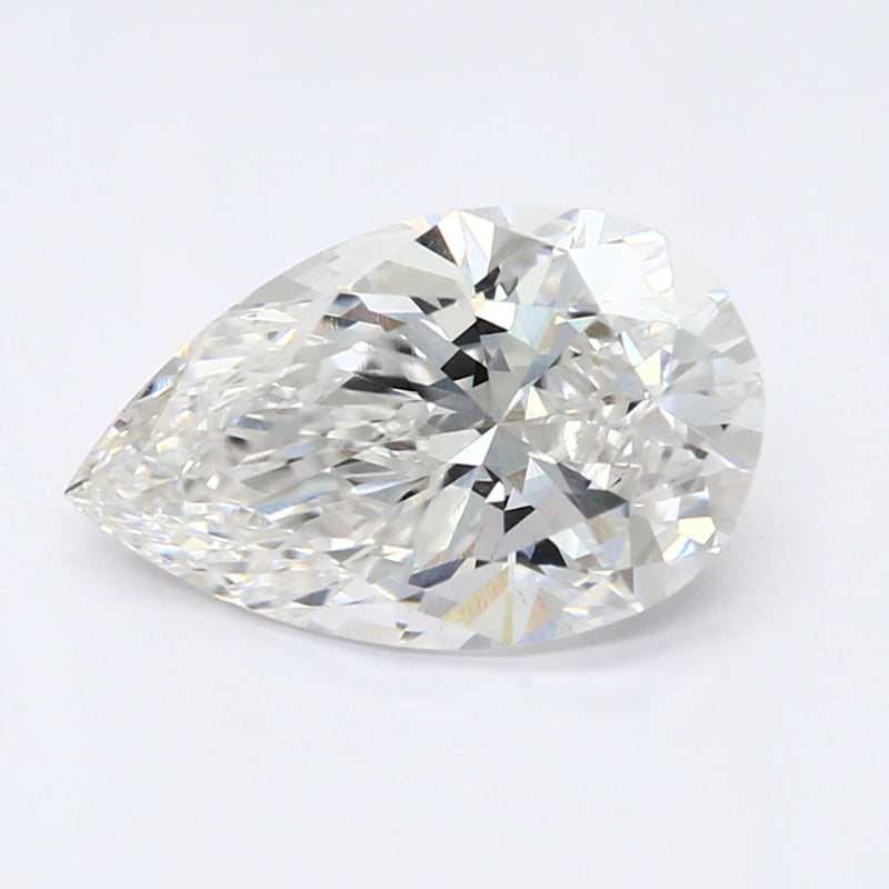 1.08 Carat  | Pear | F Colour | VS2 Clarity | Lab Grown Diamond