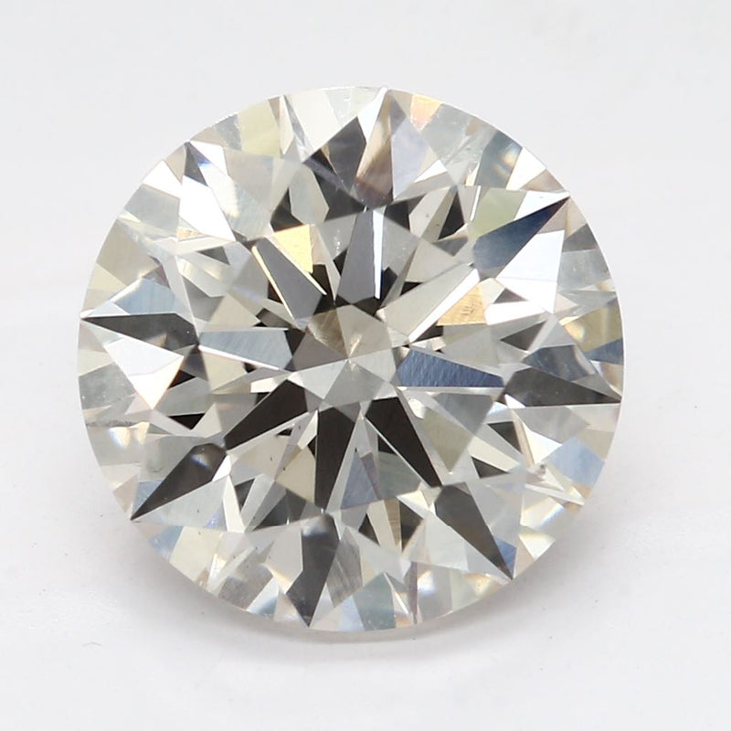 2.58 Carat  | Round | J Colour | VS2 Clarity | Lab Grown Diamond