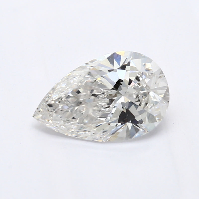 0.51 Carat  | Pear | F Colour | VS1 Clarity | Lab Grown Diamond