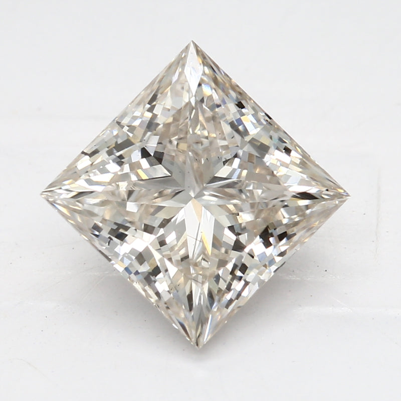 2.06 Carat  | Princess | J Colour | VS2 Clarity | Lab Grown Diamond