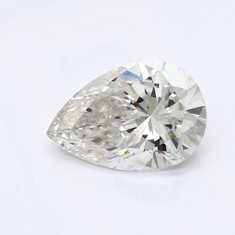 0.76 Carat  | Pear | G Colour | SI1 Clarity | Lab Grown Diamond