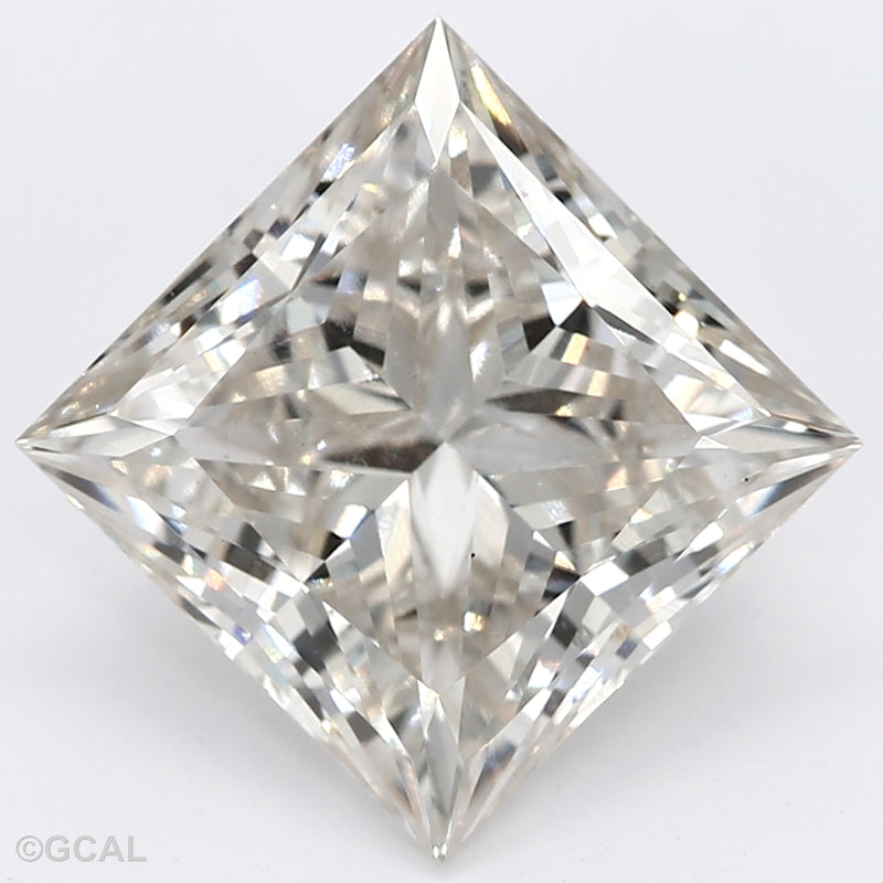 2.08 Carat  | Princess | J Colour | VS2 Clarity | Lab Grown Diamond