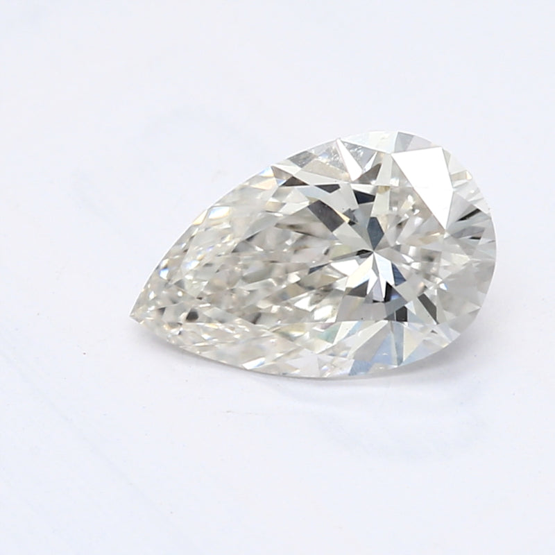 0.54 Carat  | Pear | H Colour | VS1 Clarity | Lab Grown Diamond