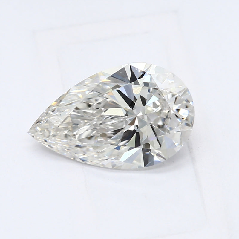 0.78 Carat  | Pear | G Colour | VS1 Clarity | Lab Grown Diamond