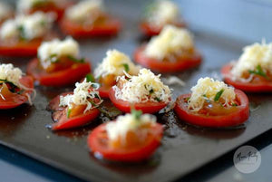 Grilled Tomatoes With Baobab Jam