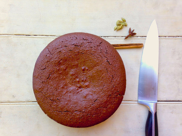 Shea Dark Chocolate Espresso Cake