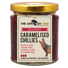 Caramelised chillies
