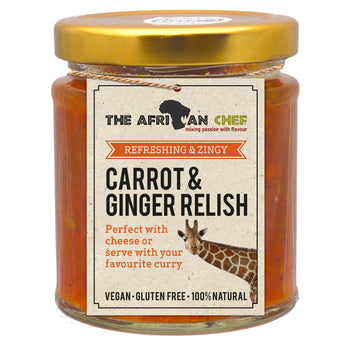 Carrot & Ginger Relish  215g