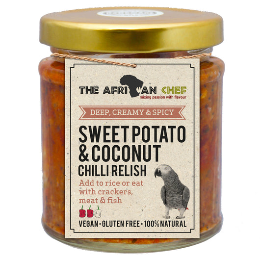 Sweet Potato & Coconut Relish 215g
