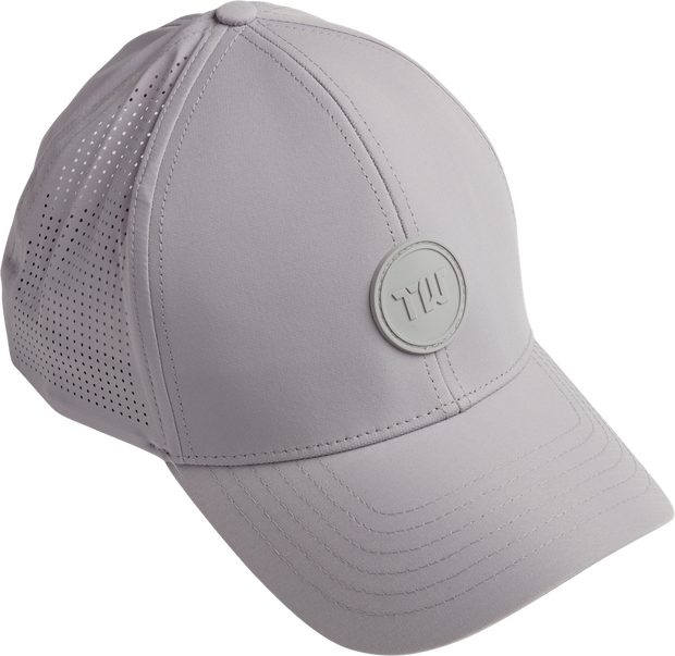 Albatross Grey Golf Hat TW Logo.