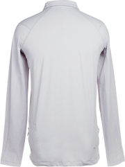 Apex Lifestyle Mens Grey Quarter Zip Pullover.