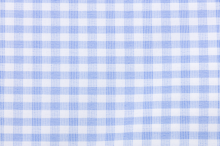 Tuwear Phenom Professional Dress Shirt Light Blue Gingham