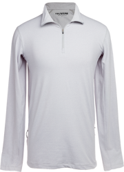 Apex Lifestyle Mens Grey Quarter Zip Pullover