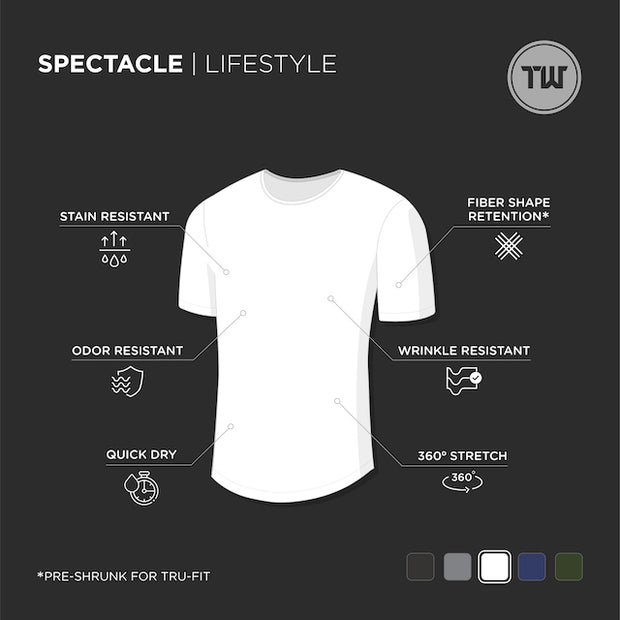 TRUWEAR Spectacle Lifestyle Short Sleeve Shirt