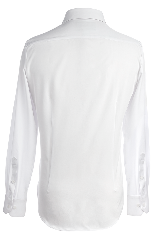 Phenom Classic White Long Sleeve Dress Shirt