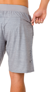 Criterion Lifestyle Gray Performance Workout Shorts