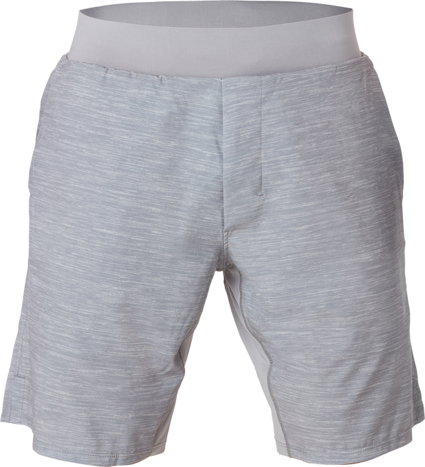 TRUWEAR Criterion Lifestyle Grey Performance Workout Shorts