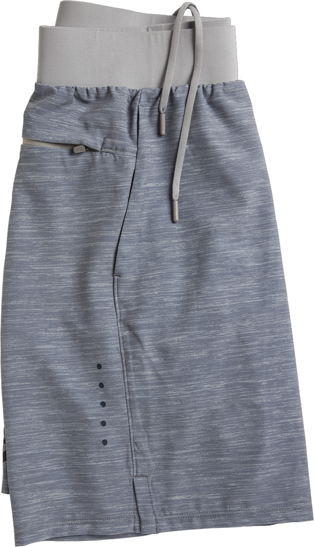 TRUWEAR Criterion Lifestyle Gray Performance Workout Shorts