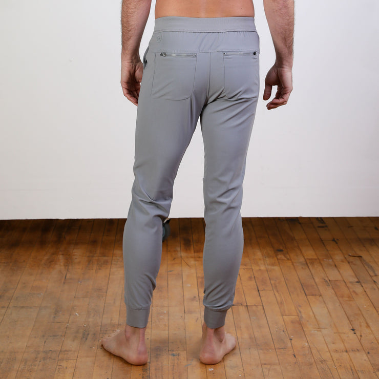 Peak Lifestyle Grey Performance Men's Jogger Pant